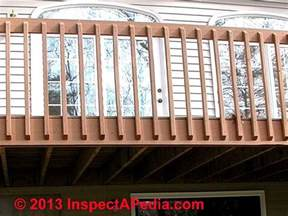 Stair Banister Repair Deck Guardrail Or Stair Railing Baluster Installation