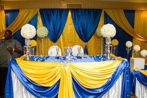 29 best Royal Blue and Yellow Weddings images on Pinterest