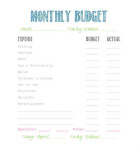 simple template free simple budget template 10 free word excel pdf
