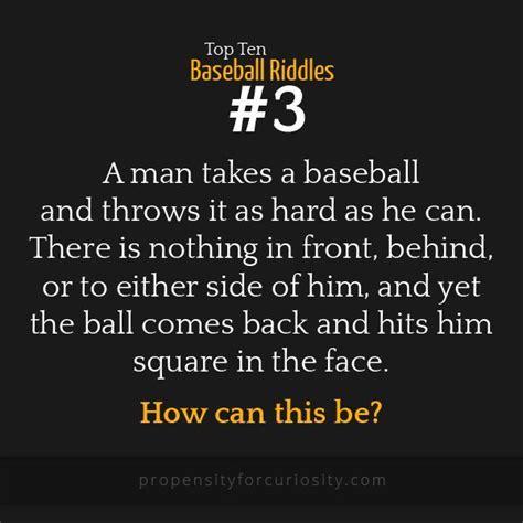best riddle top ten baseball riddles middle school riddles for