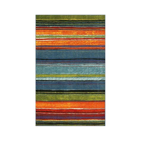 mohawk rainbow rug mohawk home rainbow multi 6 ft x 9 ft area rug 512712 the home depot