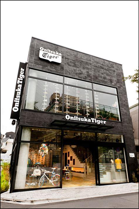 Onitsuka Tiger flagship store, Tokyo » Retail Design Blog