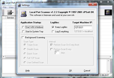 local network port scanner local port scanner