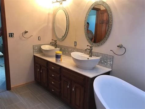 solid surface countertops indianapolis bathroom vanity tops indianapolis in countertop installation