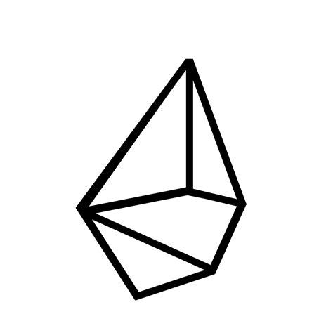 Geometric Gems modern ornaments geometric gems east coast