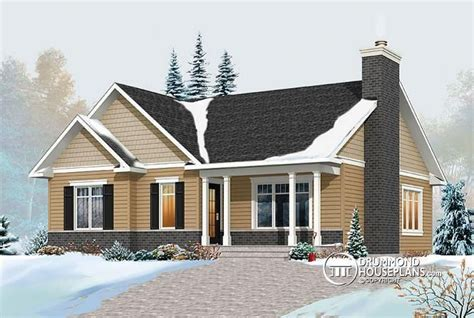 large bungalow house plans w3147 v2 transitional bungalow house plan with open
