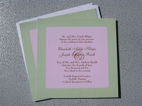 Inexpensive Make Your Own Wedding Invitations   How to do