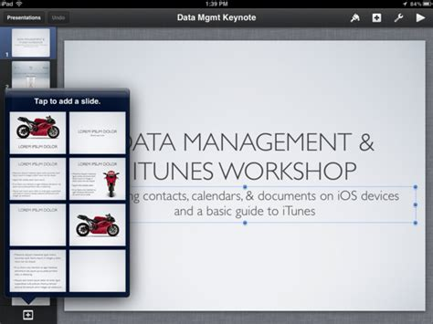 change theme keynote ipad keynote for iphone and ipad review imore