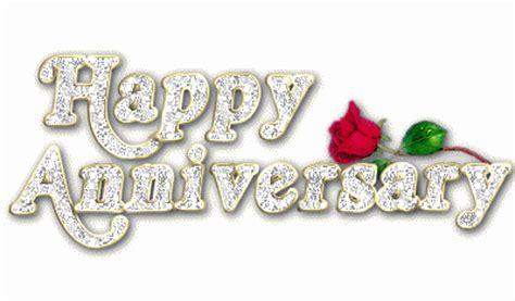 Glitter Happy Anniversary Graphic   DesiComments.com