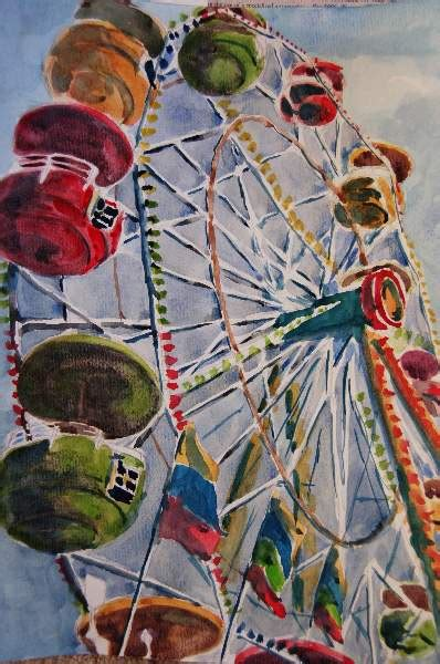 1000 images about ferris wheel paint on