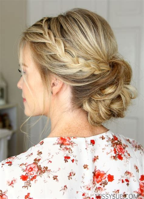 young bridesmaid buns 11 easy to do hairstyle ideas for summers lace braid