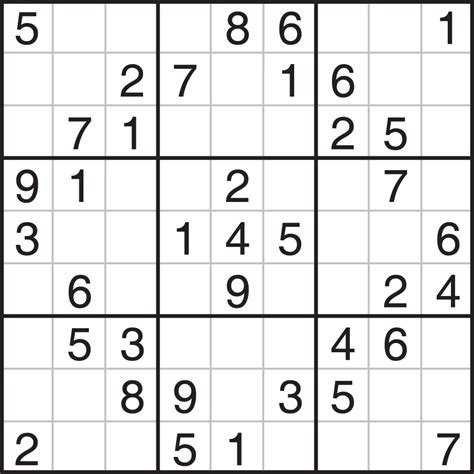 printable sudoku and crossword puzzles printable sudoku