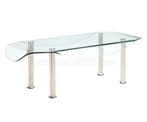 Coffee Table Metal Legs by Glass Top Metal Legs Modern Coffee Table W Options