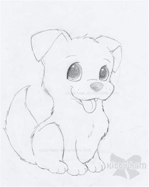 easy puppy drawing easy sketch www imgkid the image kid has it