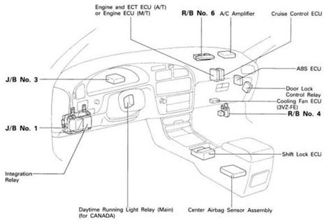 toyota camry ac lifier location toyota free engine image