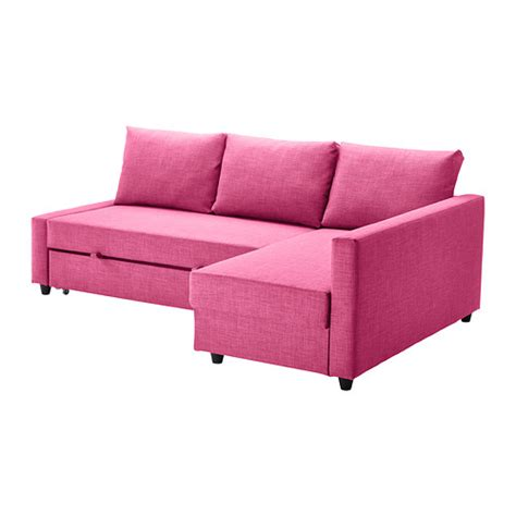 Pink Sofa Bed Leather Corner Sofas Modern Contemporary Ikea