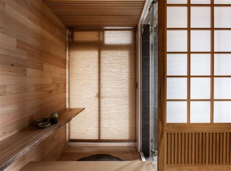 Japanese Wood Wall Design