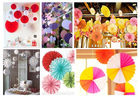 How To Make Hanging Paper Decorations - hanging paper decorations whatmakesmedrool