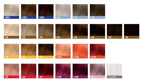 paul mitchell the color chart introducing our newest color line the demi paul