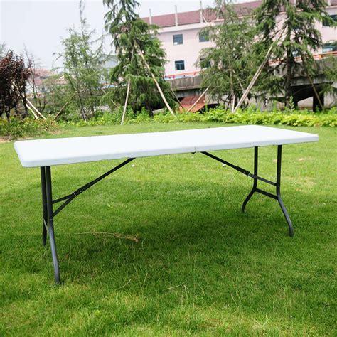 6 ft portable folding table 6 ft portable folding table outdoor picnic plastic cing