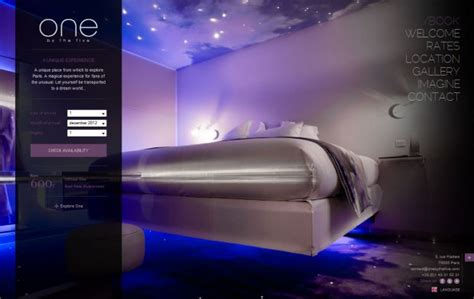 room design websites one by the five hotel paris designer room and boutique