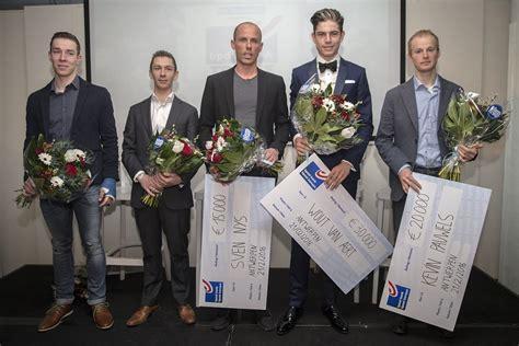 bpost bank trofee veldritkrant be foto s prijzen overhandigd op slotgala