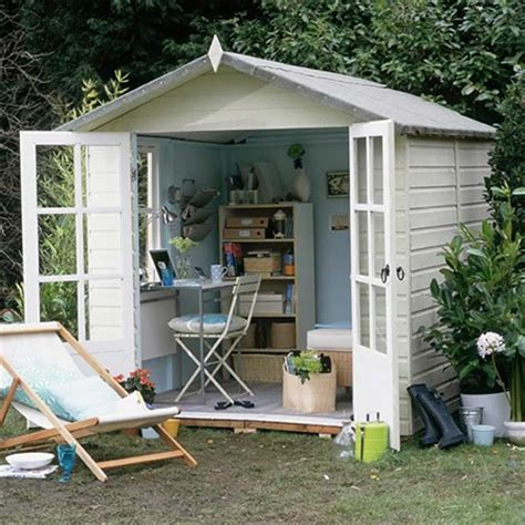 home dzine home office | turn a garden shed into a home office