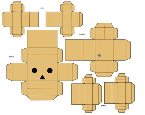 Papercraft Danbo - danbo a cardboard robot specs price release date