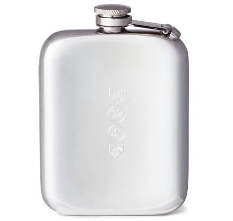 Handmade Pewter Flask - pewter flask by sir jacks made in
