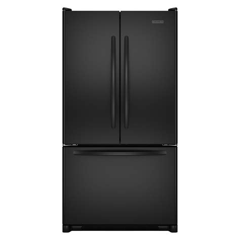 kitchenaid counter depth refrigerator with water dispenser kitchenaid kbfs20evbl 19 8 cu ft french door