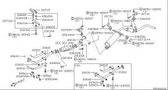 2002 Nissan Xterra Exhaust System Diagram 2001 Nissan Altima Exhaust System Diagram 2001 Free