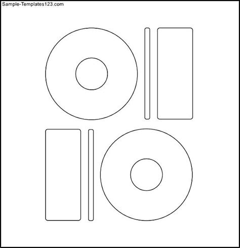 blank memorex cd label template sle templates