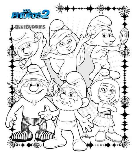 dibujos infantiles a color dibujos de los pitufos 2 para colorear holidays oo