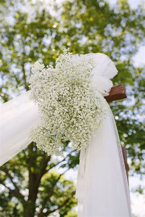 Flower To Decorate A Wedding by 25 Best Ideas About Wedding Arch Tulle On