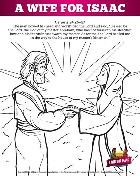 the love story about isaac and rebekah comes from genesis