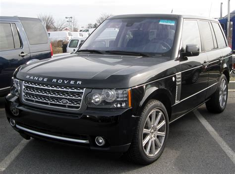 land rover range rover 2010 2010 land rover range rover information and photos