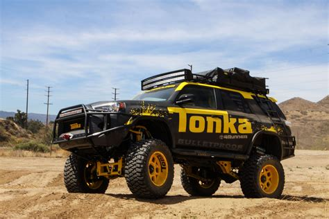 big 4 auto this custom toyota 4runner is tonka toys newest size