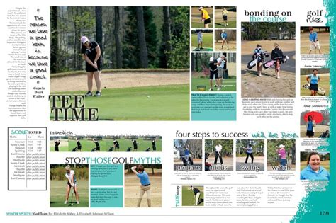 Yearbook Golf Layout | the pride starr s mill high school fayetteville ga