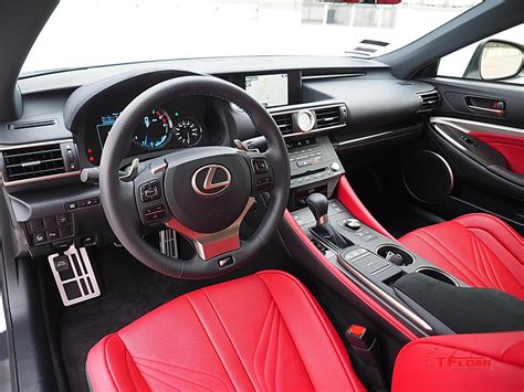 lexus rc interior 2016 lexus rc f luxury gt or japanese track monster