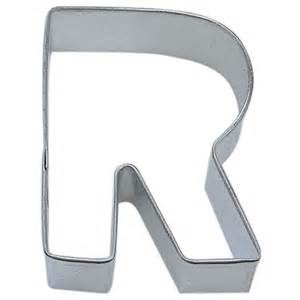 letter r cookie cutter cookie cutter experts since 1993
