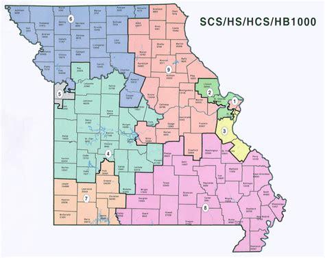 missouri district map missouri voter map swimnova