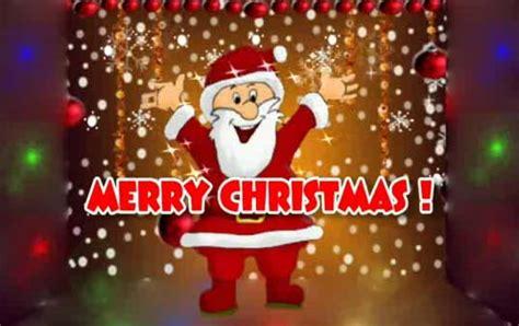 merry christmas dancing santa ecard  merry christmas wishes ecards