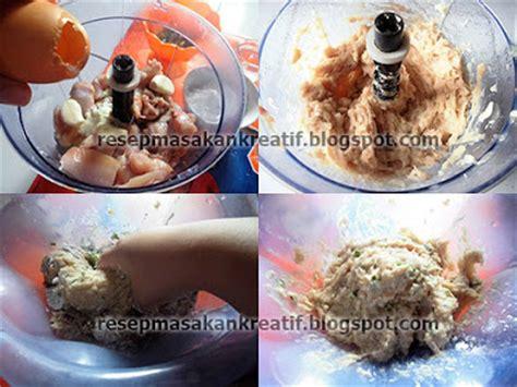 bahan membuat kuah bakso ayam resep bakso ayam mudahnya membuat pentol kenyal padat