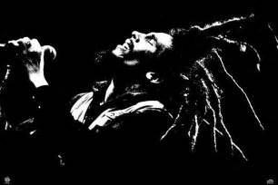 How To Make A Singing Birthday Card - bob marley black amp white poster sold at europosters