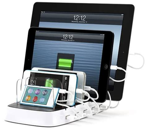multi device charger station griffin s multi device charging station now shipping
