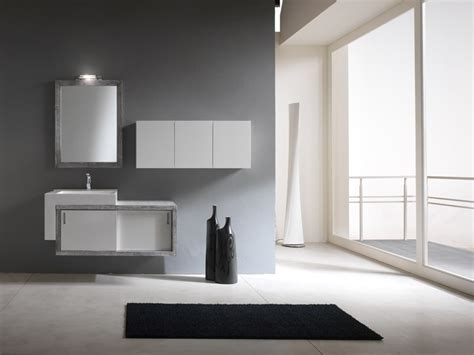 contemporary bathroom simple and modern bathroom cabinets piquadro 2 by bmt
