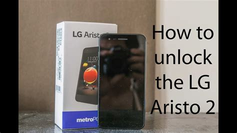 pattern unlock lg aristo how to unlock the lg aristo 2 to any carrier youtube