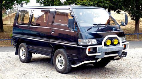 mitsubishi usa 1991 mitsubishi delica turbo diesel 4wd usa import