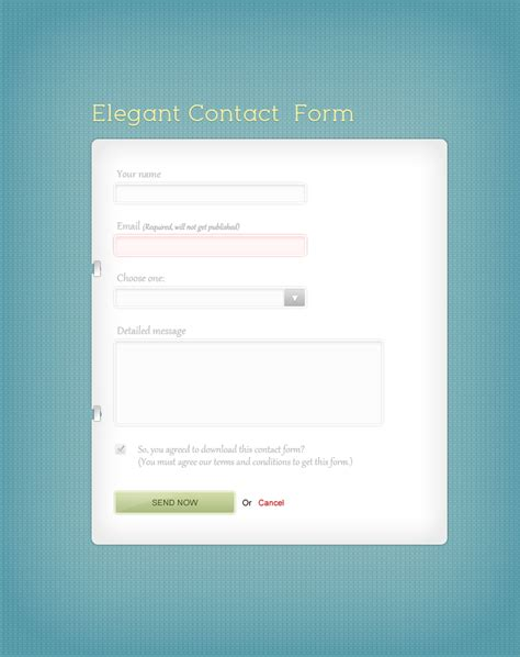 form template design 57 contact web form designs for inspiration designbump