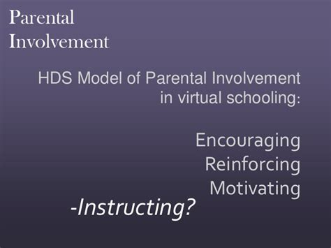 Parent Involvement In Education Essay by Dissertation Parent Involvement In Homework